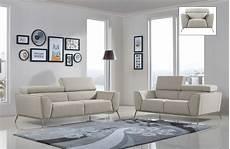 divani casa velva modern beige brown fabric sofa set