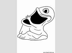 Tekeningen te schilderen & Kleur Monsters Aliens   Print