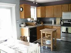 best kitchen wall color with oak cabinets best paint colors for andrea s plans grey