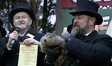 groundhog day 2019 results watch punxsutawney phil predict weather world news express co uk