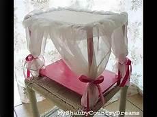 come costruire un letto a baldacchino tutorial letto a baldacchino per bambole fai da te