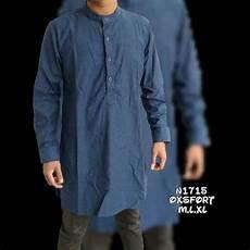 jual baju koko pria kemeja muslim gamis pria modern kode n1715 di lapak the terrano store