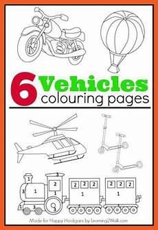 transportation vehicles coloring pages 16403 transportation colouring pages for boys happy hooligans