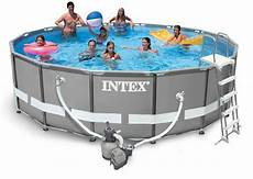 intex ultra frame pool komplett set 488x122 sandfilter 26324