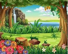 40 Gambar Animasi Hutan Info Baru