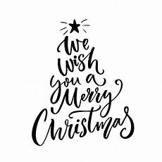 merry christmas wish vector we wish you a merry christmas typography greeting card text stock vector illustration of