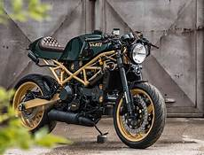 Cafe Racer Umbau Einer Ducati St4 Autos Y Motos Motos Y