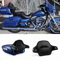 harley davidson king tour pack superior blue chopped tour pak backrest pack for harley