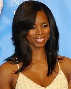 medium length hairstyles for black