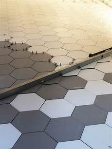 Pose Carrelage Hexagonal