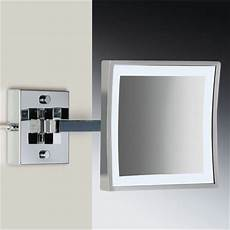 wall mounted led lighted magnifying mirror modern makeup mirrors philadelphia by