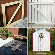 Gartenzaun Selber Bauen Holz - gartentor diy gartentore garten und garten ideen