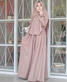50 Koleksi Model Baju Gamis Syar I Tanah Abang Modern