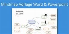 mindmap vorlage f 252 r powerpoint word kostenlose