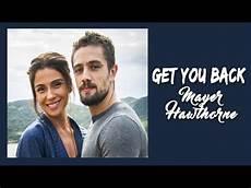 get you back mayer hawthorne tradu 231 227 o trilha sonora sol