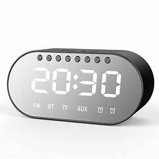 Bakeey Electronic Clock Display Dual Output by Bakeey T1 Wireless Bluetooth Speaker Dual Drivers Dual