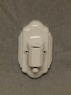 vintage ceramic white porcelain wall sconce old art deco light fixture 850 16 ebay
