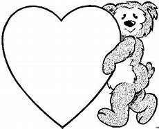 Malvorlagen Kinder Herz Baerchen Herz Ausmalbild Malvorlage Kinder