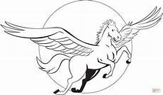 Pegasus Malvorlagen Zum Ausmalen Flying Pegasus Coloring Page Free Printable Coloring Pages
