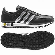 adidas la trainer herren schuhe 44 uk 9 5 schwarz l a