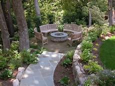 Corner Outdoor Pit Seating Ideas Corner