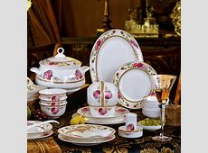 56 PCS jingdezhen free shipping ceramic fine bone china