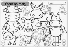 ideenreise ausmalbild quot farm animals quot