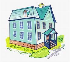 House Blue Home Gambar Rumah Pengantin Kartun Free
