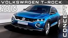 t rock 2016 volkswagen t rock concept review rendered price specs