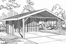 house plans with carports traditional house plans carport 20 094 associated designs
