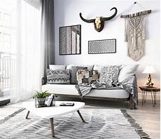 deko modern style modern monochrome tribal decor