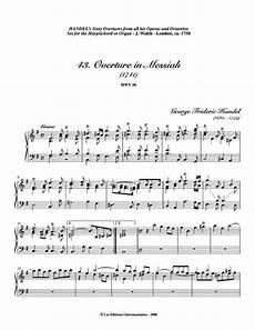 file wima 9964 handel 43 messiah overture pdf imslp free sheet music pdf download