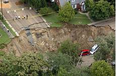 new sinkhole in texas sinkhole opens up and swallows