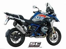 bmw gs adventure 2020 quot adventure quot exhaust by sc project bmw r1250gs 2020