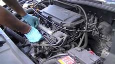 vw golf 1 4 16v engine and filter change ahw
