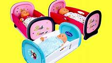 baby dolls bed smoby baby disney frozen dolls bed