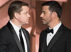 matt damon jimmy kimmel jimmy kimmel and matt damon s feud is alive and well at