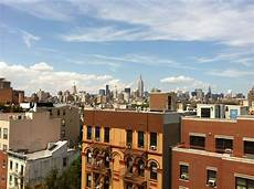 view from my apartments roof lower east side manhattan