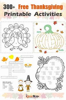 300 pages free thanksgiving printables for learning