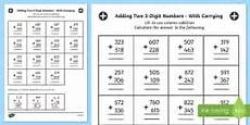 double digit multiplication worksheets maths resources
