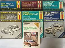 old cars and repair manuals free 2006 ford gt electronic throttle control 7 automotive repair manuals 6 haynes 1 chiltons car book lot ford gm dodge chevy repair