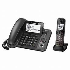 panasonic 1 9 ghz expandable bluetooth corded phone with