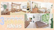 Bedroom Ideas For Bloxburg by 3 Summer Bedroom Ideas Roblox Bloxburg