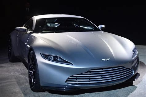 James Bond's Aston Martin From 'spectre' To Be Auctioned