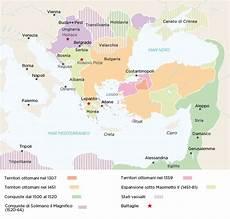impero ottomano cartina storiadigitale zanichelli linker mappastorica site