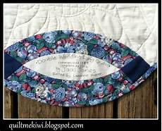 quiltmekiwi double wedding ring quilt