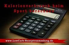 kalorienverbrauch beim sport berechnen lowcarb