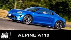 Alpine A110 Essai En 224 Dieppe Auto Moto