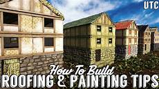roofing painting tips how to build ark survival evolved youtube