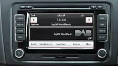 Erstkontakt Vw Rns 510 Radio Mit Dab Und Radiotext